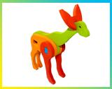 پازل سه بعدی حیوانات